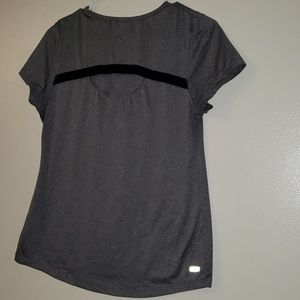 Danskin , ladies semi fitted top